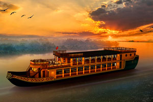 Cruise Along Sai Gon River With Buffet Dinner and Live Entertainment (Deluxe)