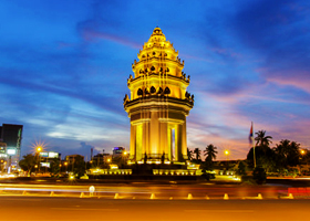 Phnompenh City Tour 1 Day By Tuk Tuk (No Killing Field)