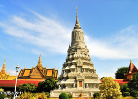 Phnompenh City Tour 1/2 Day By Tuk Tuk (Morning, No Killing Field)