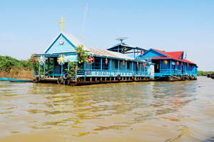 Tonle Sap Lake ½ Day By Tuk Tuk (Afternoon)